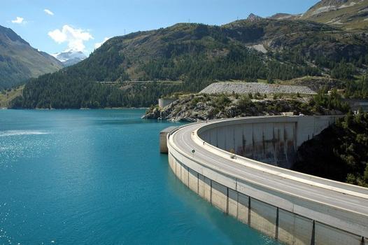 Tignes Dam