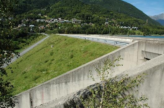 Communes d'Allemond et d'Oz (38114, Isère, Rhône-Alpes) - Barrage du Verney : Communes d'Allemond et d'Oz (38114, Isère, Rhône-Alpes) - Barrage du Verney