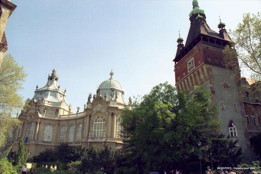 Burg Vajdahunyad, Budapest.