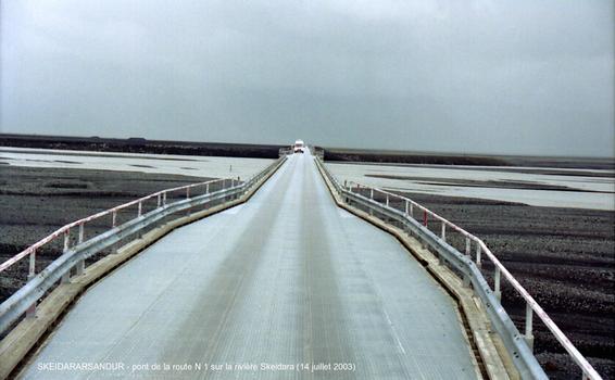 Skeiðará-Brücke, Island