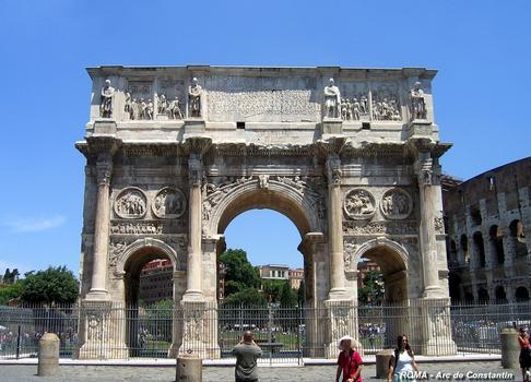 Rom - Bogen des Konstantin
