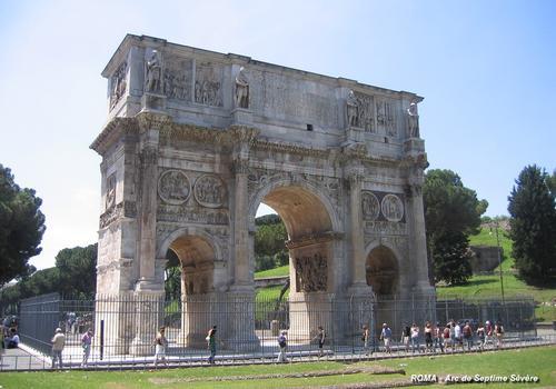 ROME – Arc de Septime Sévère