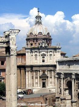 Rom - Forum Romanum - Chiesa dei Santi Luca e Martina