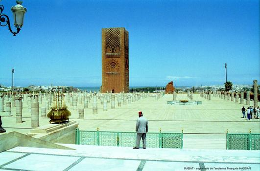 Hassan-Moschee, Rabat