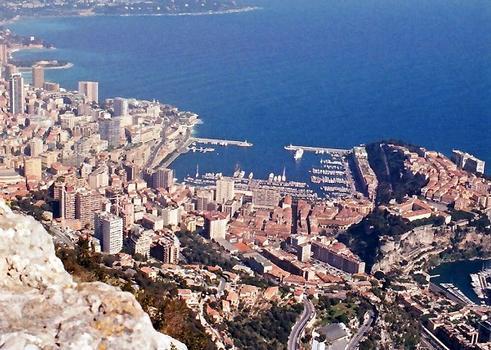 Monaco - le Port de la Condamine avant son extension