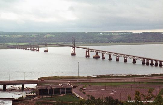 Pont de l'Ile d'ORLEANS (région Capitale-Nationale)