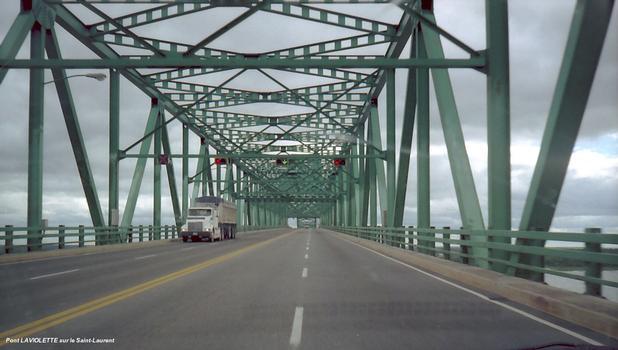 Laviolette Bridge (Trois-Rivières, 1967)
