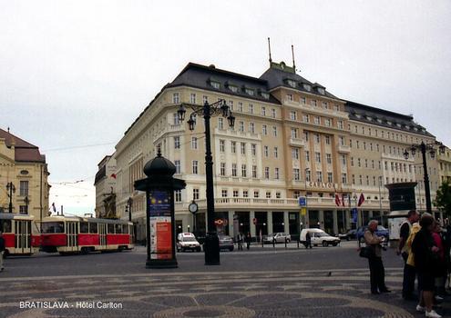 BRATISLAVA – Hôtel Carlton, inauguré en 1837