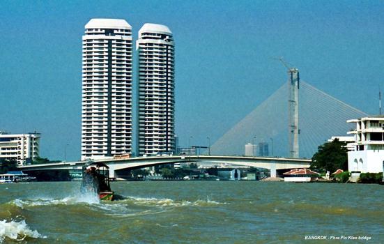 Phra Pin Klao-Brücke, Bangkok