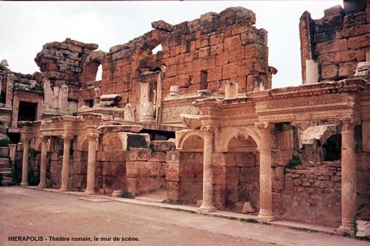 Antique theater at Hierapolis
