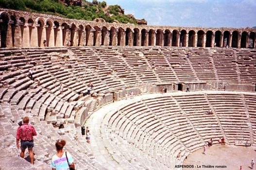 Antikes Theater von Aspendos