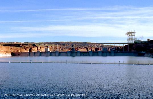 Glen Canyon Bridge & Dam (Page, Arizona)
