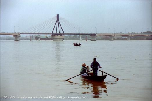 Danang Bridge over the Han River in Vietnam