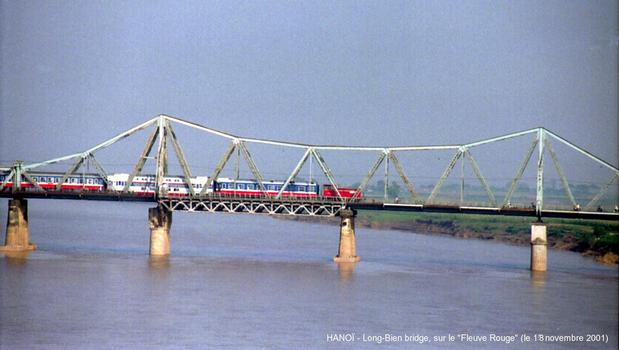 Long-Bien-Brücke, Hanoi.