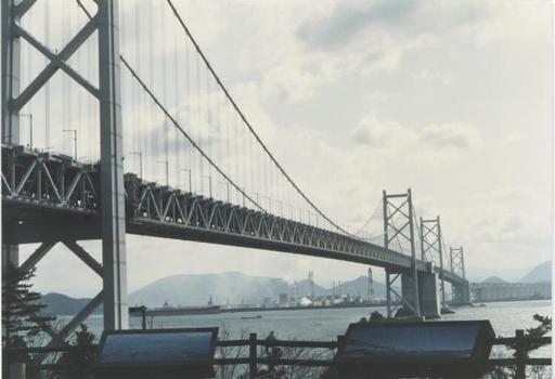Seto Ohashi Bridges.