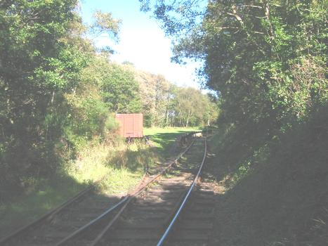 Causey ArchPlatform for the steam trains from Tanfield