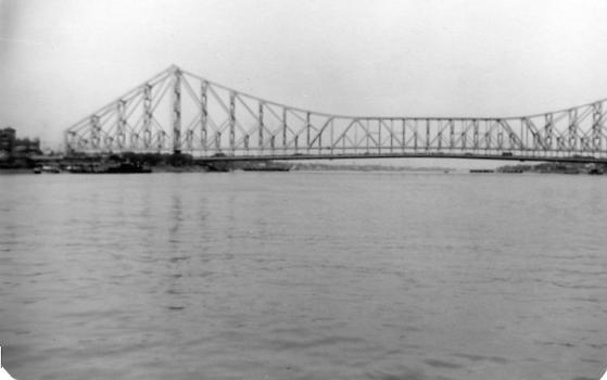 Howrah Bridge 1980 from West