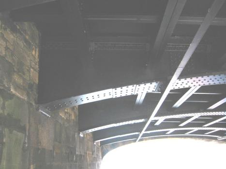 Newcastle Swing Bridge Note all riveted construction
