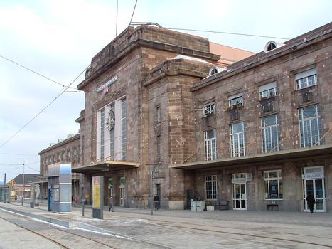 Mulhouse: La gare SNCF de Mulhouse-Ville