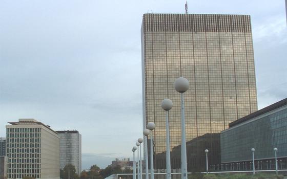 Tour des Finances, Brussels.