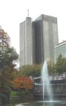 Tour des Finances, Brussels