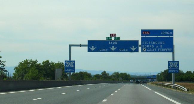 Autoroute A 43
