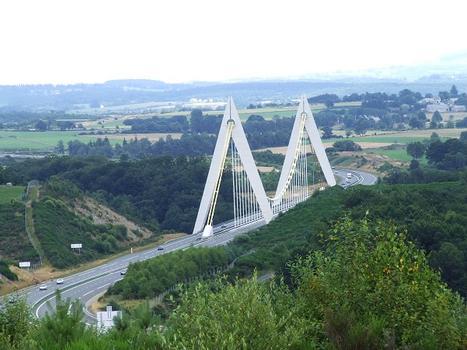 Viaduc de Chavanon sur l'autoroute A89