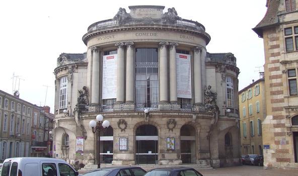Agen: Le théâtre municipal Ducourneau