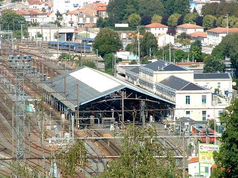 Bahnhof in Angoulême