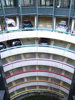 Annecy City Hall Underground Parking Garage