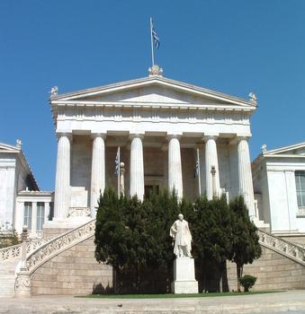 Vallianios-Nationalbibliothek, Athen.