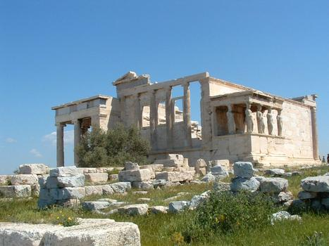 L'Acropole d'Athènes: L'Erechthéion