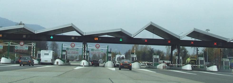 Autoroute A 43 bei Chambéry