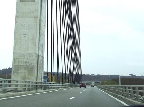 Autoroute A49 zwischen Grenoble und Valence