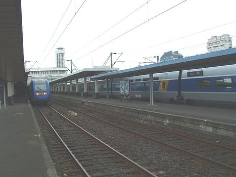 Gare SNCF de Brest.(Finistère-Bretagne-France)