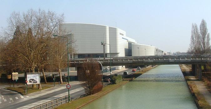 Aisne-Marne-Kanal in Reims