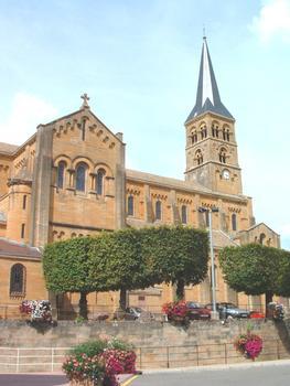 Eglise du Sacré Coeur à Charolles (71). (1863-1868)