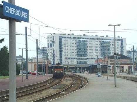 Gare SNCF de Cherbourg (50/Manche/Basse Normandie)