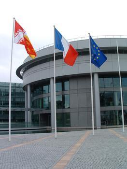 Siège du Conseil Général du département du Haut-Rhin, Colmar. Architekt: Adrien Fainsilber