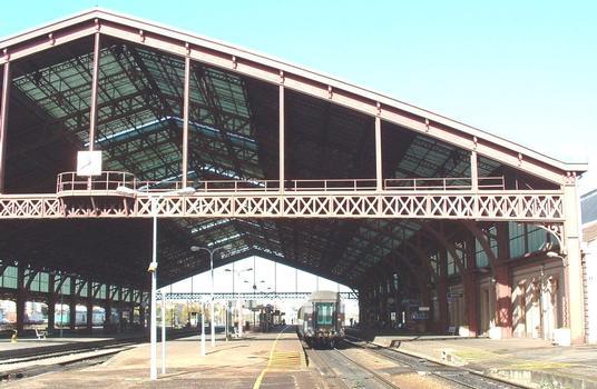 Gare de Troyes, côté des quais