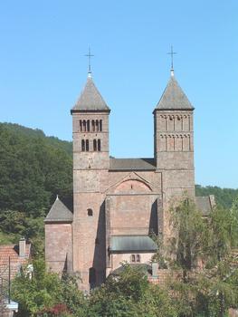 Kirche Saint-Léger, Murbach.