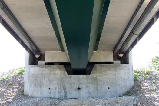 Erich-Dilger-Brücke über den Rhein bei Fessenheim