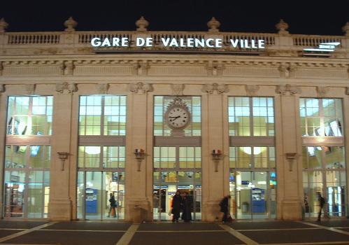 Gare SNCF de Valence (Drome)