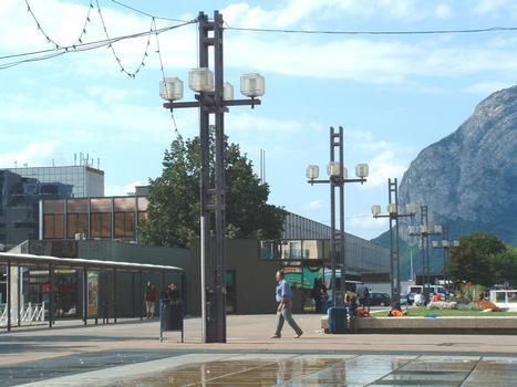 Gare SNCF de Grenoble (38-Isère)