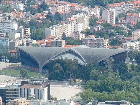 Palais des Sports de Grenoble (38-Isère). (1967, architectes Demartini et Junillon)