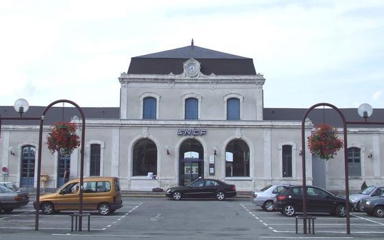 La gare SNCF de Guérêt