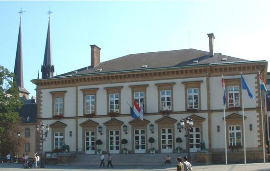 Hôtel de Ville, Luxemburg
