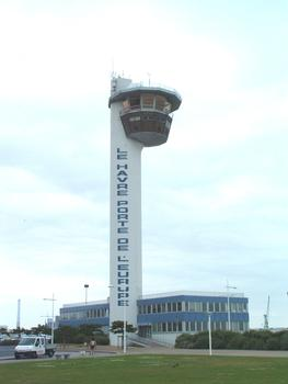 Hafenkontrollturm Le Havre