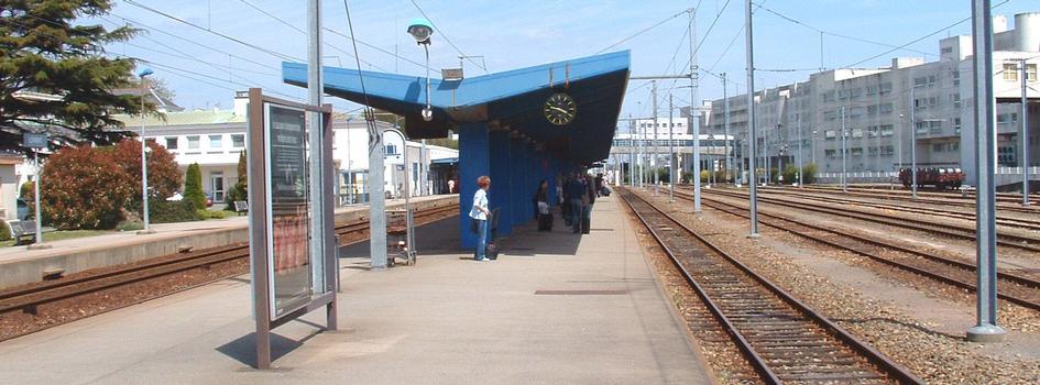La gare SNCF de Lorient