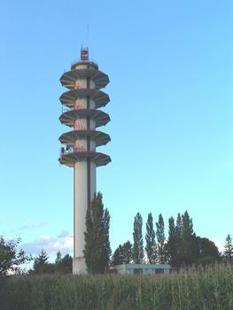 Telecommunications tower, Morschwiller-le-Bas.
